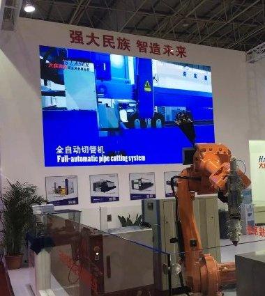 【展会】我校组织参观2016广东国际机器人及智能装配博览会
