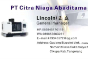 印尼 | PT Citra Niaga Abaditama 王磊