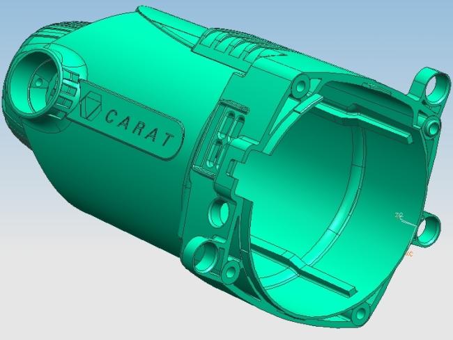 模具设计-油缸抽芯实训案例