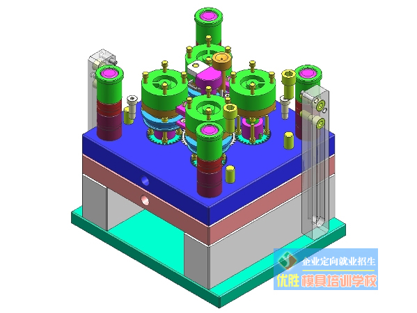 模具设计-齿轮抽芯实训案例