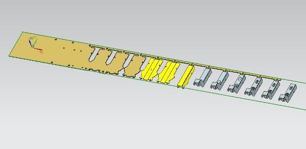 尺子模具结构图