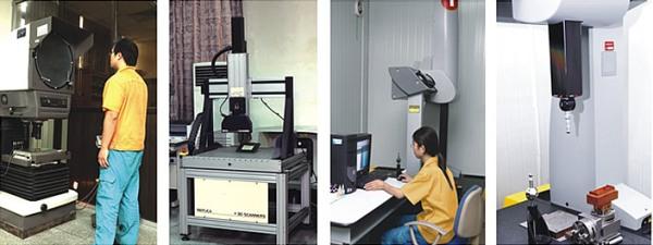 广东科龙模具有限公司隶属于海信科龙电器股份有限公司,于1995年6月建成投产,注册资金1.2亿元人民币,占地1.4万平方米。公司汇聚国内模具界精英,拥有80多人的技术研发队伍和300多名训练有素的技术工人。公司专业从事于各类大中型冲压、注塑、吸塑发泡模具的研发、设计与制造,致力于为家电、汽车、厨卫用品等制造企业提供优质的产品与服务。年产冲压模具1000余套,注塑模具600余套,吸塑发泡80余套,是珠三角地区规模最大、技术设备最先进、实力最强的模具制造中心之一。公司秉承专业、诚信的原则,以市场为导向,致力于