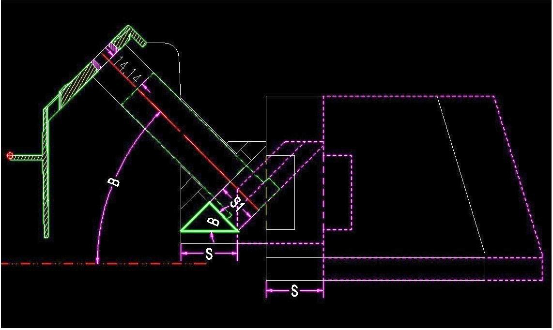 """【老陈经验】模具设计中的""""t""""结构和""""轨道法""""算行程"""