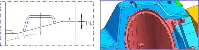 【技术资料】模具设计中分型面的设计规范