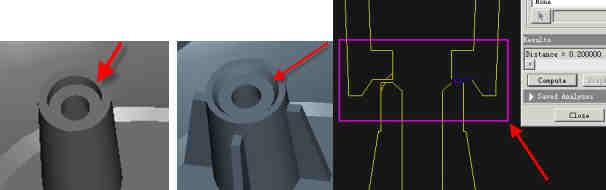 a、结构设计要合理:装配间隙合理,所有插入式的结构均应预留间隙;保证有足够的强度和刚度(安规测试),并适当设计合理的安全系数。 b、塑件的结构设计应综合考虑模具的可制造性,尽量简化模具的制造。 c、塑件的结构要考虑其可塑性,即零件注塑生产效率要高,尽量降低注塑的报废率。 d、考虑便于装配生产(尤其和装配不能冲突)。 e、塑件的结构尽可能采用标准、成熟的结构,所谓模块化设计。 f、能通用/公用的,尽量使用已有的零件,不新开模具。 g、兼顾成本 大略的汇总下结构中常见的问题注意点,期抛砖引玉,共同提高。 1、