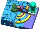 模具设计-弯管圆弧抽芯案例